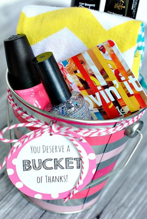 Bucket of Thanks-Cute Way to Say Thank You!