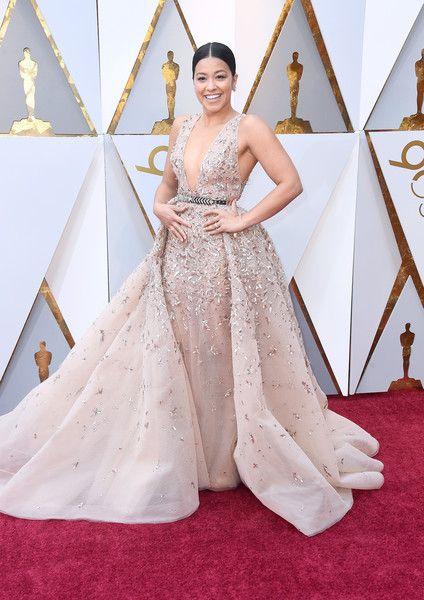 Gina Rodriguez - The Most Daring Dresses at the 2018 Oscars - Photos