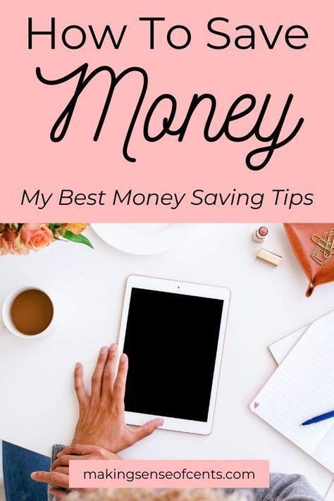 55+ Ways To Save Money