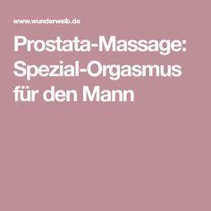 massage und orgasmus