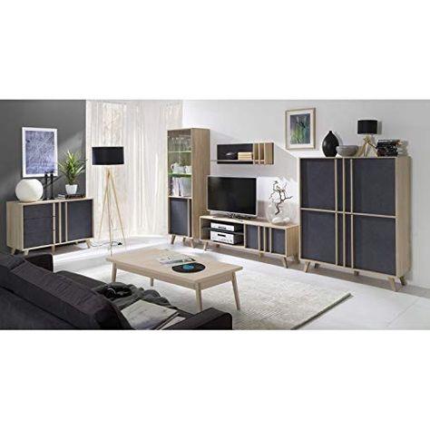 Price Factory Just For You Ensemble Meubles De Salon Malmo Bibliotheque Meuble Tv Etagere Table Basse En 2020 Meuble Meuble Salon