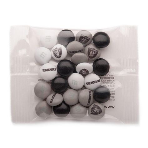 NFL Party Favor Packs - Oakland Raiders - Gifts - Shop by Category from My M&M'S®