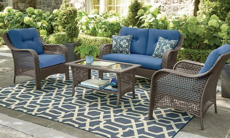 Buy Hometrends Tuscany 4 Piece Conversation Set From Walmart