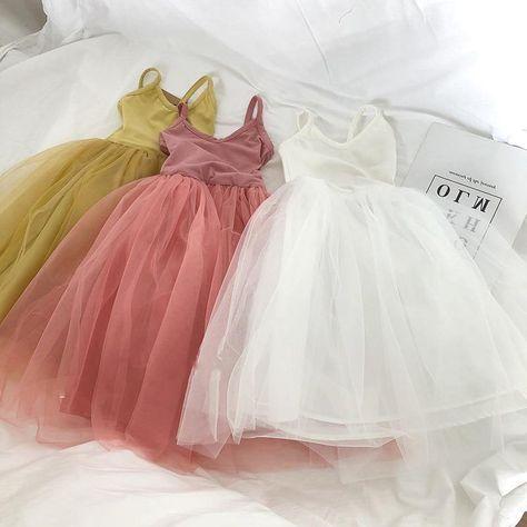 Haley Tutu Princess Sleeveless Dress - White / 4T