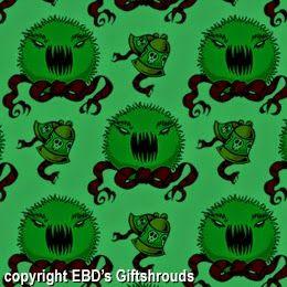 Gothic Halloween Gift Wrap for #Creepmas