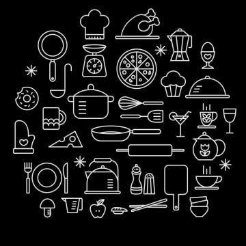 Kitchen Cooking Icon Icons Logo Kitchen Icon Kitchen Logo Kitchen Vector Food Cook Bakery Illustration Recipe Restaur Cooking Icon Cooking Clipart Kitchen Logo