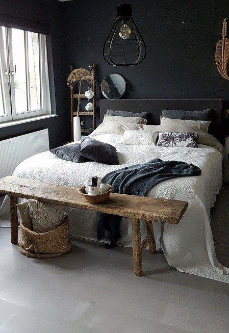 Schlafzimmer Dunkel Vintage Schlafzimmer Ideen