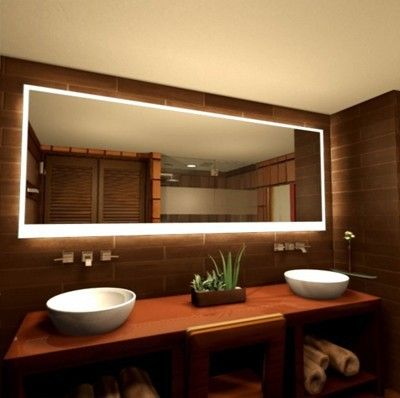 Rundum Beleuchteter Badspiegel Century In 2020 Badspiegel