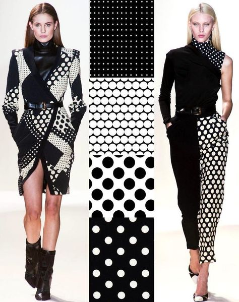 Trend Council prints in black and white +