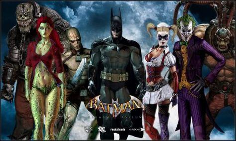 Batman Arkham City All Villains All Batman Arkham Asylum Characters Picture By 6thhokage 2008 Batman Batman Arkham Asylum Arkham Asylum