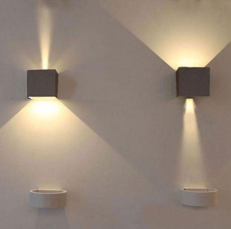 K Bright 7w Applique Murale Led Interieur Exterieur Réglable Led