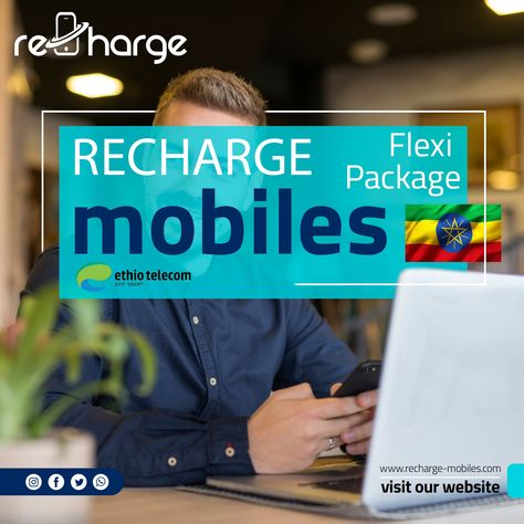 𝐄𝐭𝐡𝐢𝐨𝐭𝐞𝐥𝐞𝐜𝐨𝐦 𝐄𝐭𝐡𝐢𝐨𝐩𝐢𝐚 📲⠀ ⠀ 𝐏𝐫𝐨𝐦𝐨𝐭𝐢𝐨𝐧: Flexi Package⠀ 𝐎𝐩𝐞𝐫𝐚𝐭𝐨𝐫: Ethiotelecom Ethiopia⠀ 𝐂𝐨𝐮𝐧𝐭𝐫𝐲: Ethiopia⠀ 𝐃𝐞𝐧𝐨𝐦𝐢𝐧𝐚𝐭𝐢𝐨𝐧𝐬(𝐥𝐨𝐜𝐚𝐥): Bir 50 and Above⠀ ⠀ 𝐏𝐫𝐨𝐦𝐨𝐭𝐨𝐧 𝐃𝐞𝐭𝐚𝐢𝐥𝐬: 🛠⠀ ⠀ ~ Bonus is valid for 5 Days (usable)⠀ ⠀ ~ IAT receivers shall receive 50 Br. ≥ recharge during incentive period⠀ ⠀ Recharge Mobile on www.recharge-mobiles.com 🔝 ⠀ #rechargemobiles #mobiletopup #mobilerecharge
