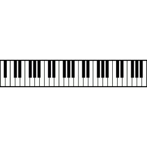 Idea By Jenny Gonzalez On Silhouette Designs Piano Keys