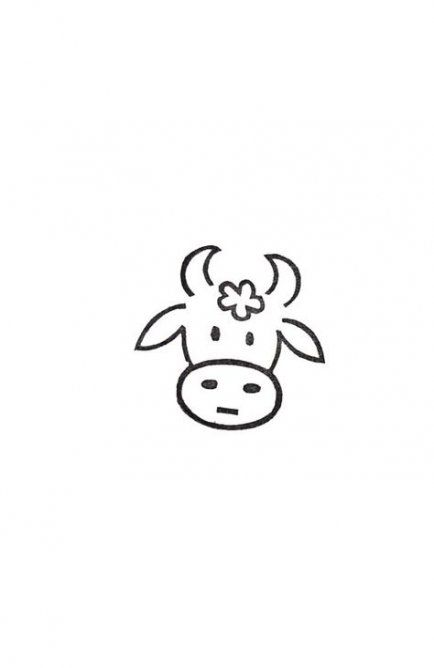 Best Painting Ideas On Wood Animals 49 Ideas Painting Cute Easy Drawings Cow Tattoo Cow Drawing