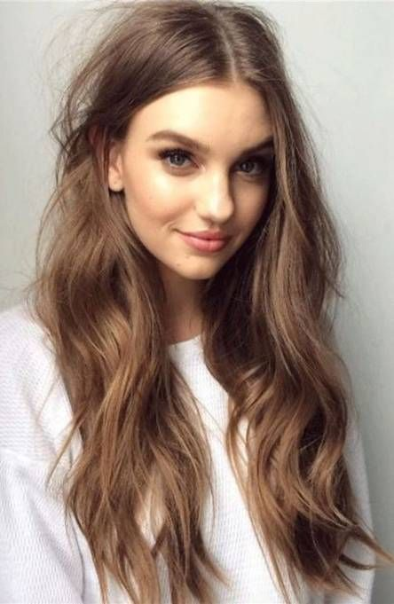 60 Ideas For Haircut For Long Hair Middle Part Haircuts For Long Hair Hair Color Light Brown Brown Blonde Hair