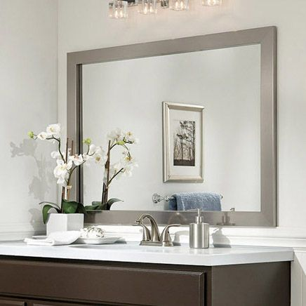 Mirror Frame Ideas Bathroom