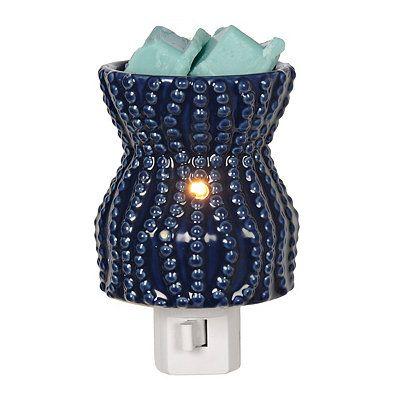Blue Coastal Tart Burner Night Light $7
