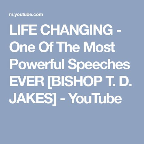 LIFE CHANGING - One Of The Most Powerful Speeches EVER