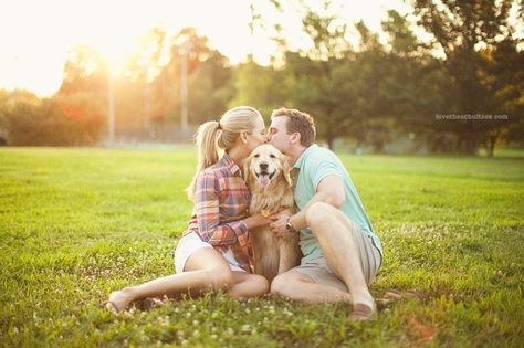 We have a serious soft spot for pets around here - don't forget to include your furry friend in your engagement photos!