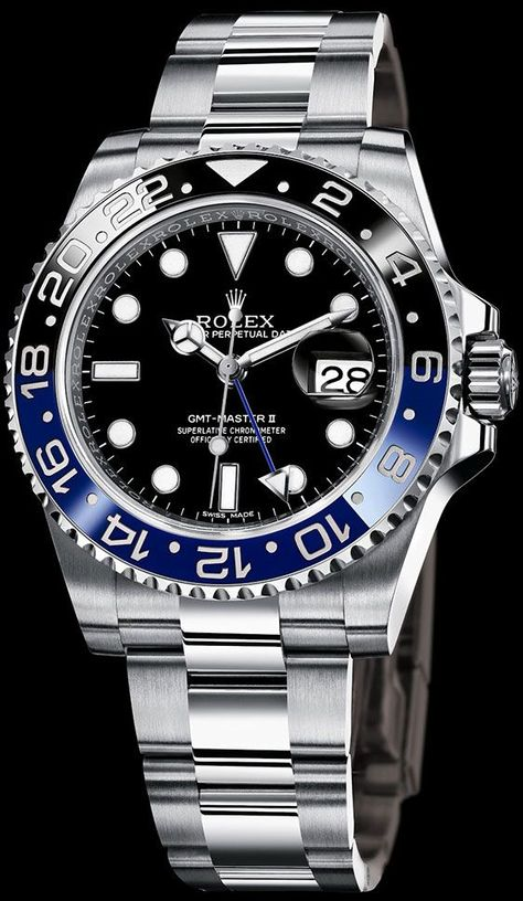 The Rolex GMT Master-II. This beautiful timekeeper was official watch of Pan-Am's pilot starting from the 50's! Its double time zones function allowed pilots keeping two different time zones under their eyes! What a beautiful story behind a beautiful watc