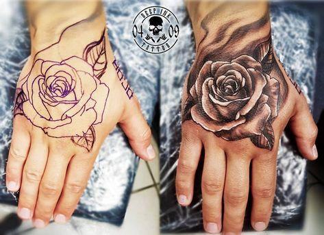 23 Likes 1 Comments Deep Ink Tattoo Heidelberg Deepinktattoo Hd On Instagram Schones Hand Tattoo Ge Hand Tattoos For Guys Drug Tattoos Tattoos For Guys