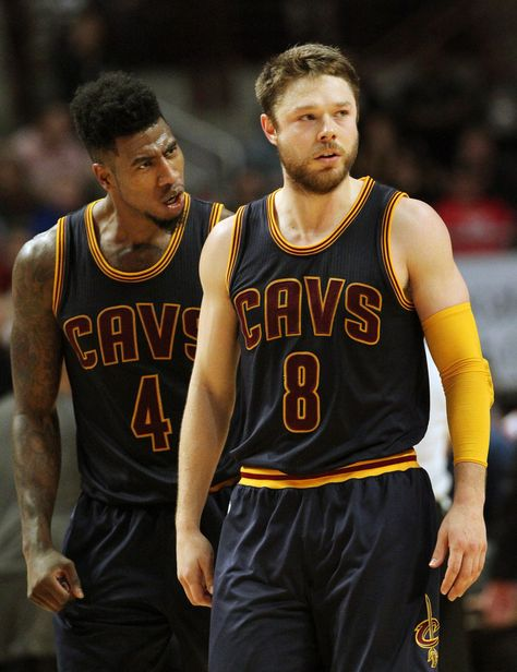 Delly and Shumpert...they are so cute. My two