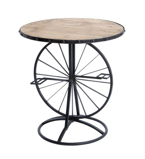 Wooden Long Lasting Accent Table in Sophisticated Style