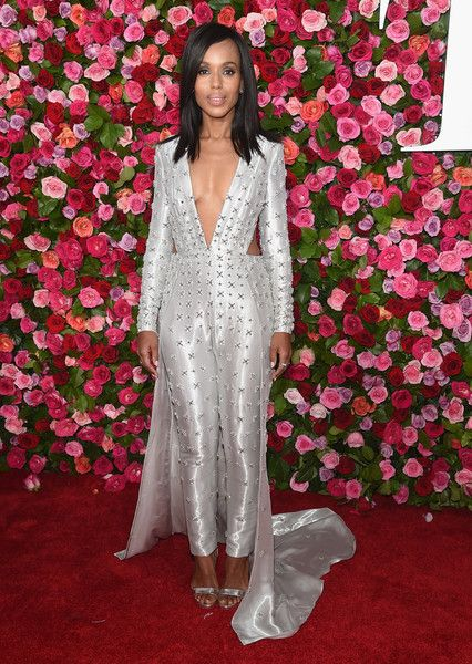 Kerry Washington attends the 72nd Annual Tony Awards at Radio City Music Hall.