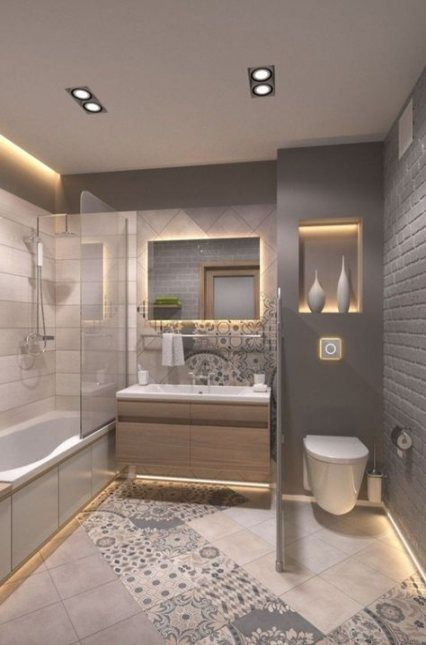 New Bath Room Remodel Small Budget Before After Tile 19 Ideas Trendy Bathroom Designs Small Remodel Trendy Bathroom Tiles Bathroom design pictures remodel decor