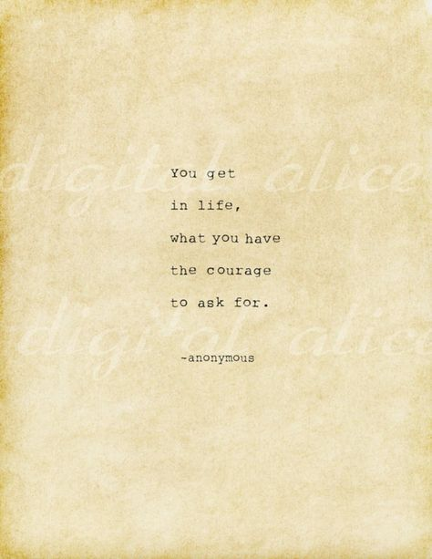 Hand Typed Quote Made On Typewriter instant download: You get in life what you…