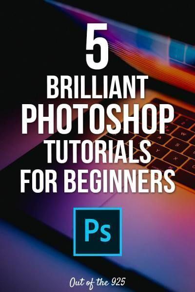 5 Brilliant Photoshop Tutorials For Beginners Photoshop Tutorial Graphics Beginner Photoshop Photoshop Tutorial Photo Editing