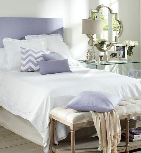 Calming Lavender Bedroom