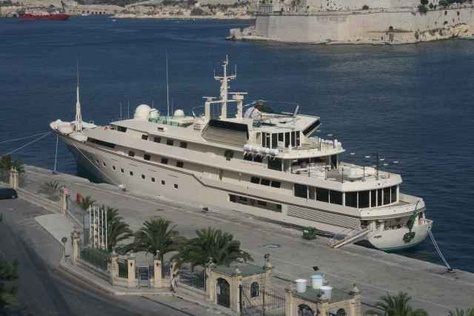 Eclipse Yacht In Malta Abramovich S Yacht Visits Malta