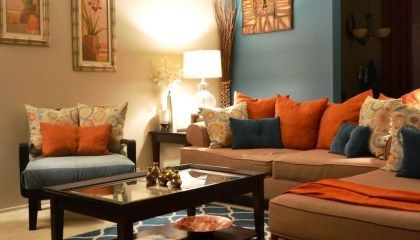 40 Inspiring Furniture Color Ideas For Your Living Room Homyhomee Turquoise Living Room Decor Brown Living Room Decor Living Room Turquoise