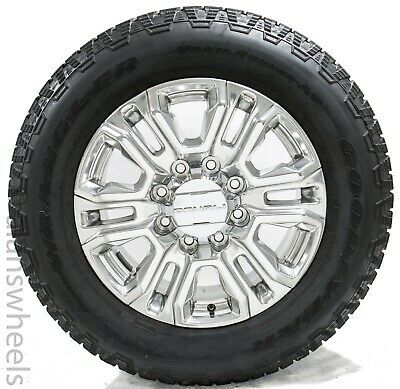 New 2020 Gmc Denali Sierra 2500 3500 Hd 8 Lug Polished Oem 20 Wheels Rims Tires In 2020 Gmc Denali Wheel Rims Rims And Tires