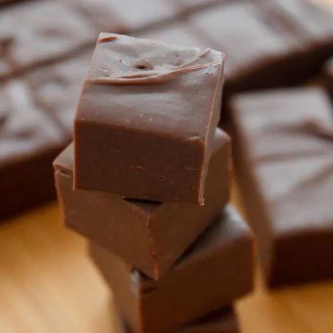 3 Minute Fudge Recipe Fudge Recipes Fudge Chocolate