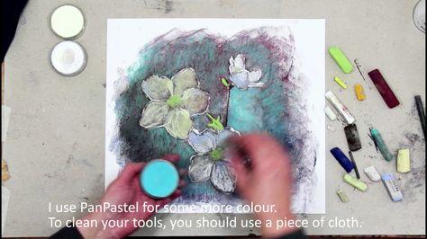 Pastel And Fixative Youtube Krijt