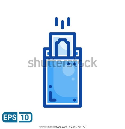 Envelope Money Icon Filled Line Style Stock Vector (Royalty Free) 1944270877