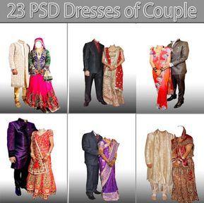 23 Psd Dresses Of Couple Free Download Download Adobe Photoshop Indian Wedding Album Design Wedding Album Design