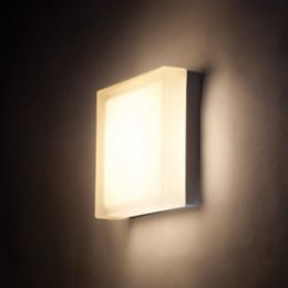 Dweled Dice Indoor Outdoor Led Flush Mount Wall Sconce Ylighting