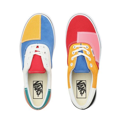 Patchwork Era Shoes | Multicolour | Vans | Shoes, Vans, Ways