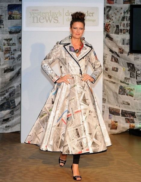 Samantha Pleet, Bahar Shahpar, and More Design 'Little Newspaper Dress' for Charity (Photos) : TreeHugger