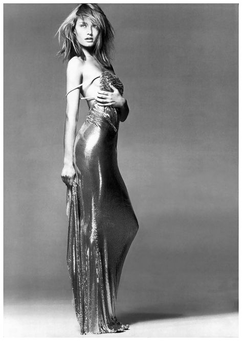"""lelaid: """" Amber Valletta by Richard Avedon for Versace Couture, Spring/Summer 1996 """""""