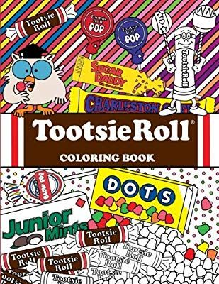 Tootsie Roll Coloring Book 24 Page Coloring Book Coloring Books Tootsie Roll Books