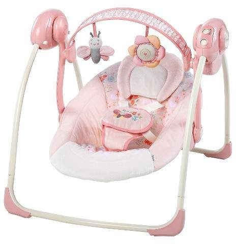 Ingenuity Portable Swing Felicity Floral Baby Doll Accessories Fisher Price Baby Baby Swings