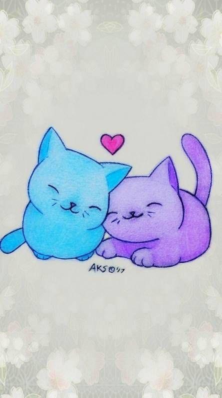 Anime Cats Love Anime Cat Anime Love Wallpaper