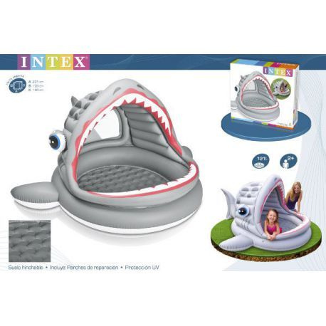 Piscina Hinchable Tiburon Intex Hinchable Piscinas Y Tiburones