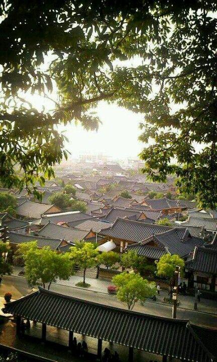 from ohmokdae _ Jeonju Hanok Village
