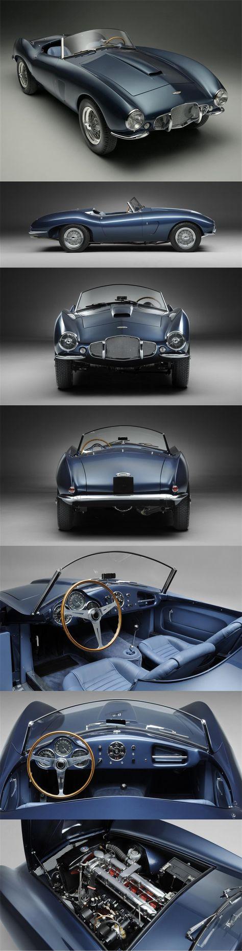Arnolt-Aston Martin DB2/4 Bertone Spyder LHD (1953) - Este Arnolt-Aston Martin es un automóvil extremadamente raro que es uno de los primeros seis originales DB2 / 4 LHD. El automóvil se completó a fines de 1953 y, como resultado, el motor original de 2.6 litros fue reemplazado por una unidad más nueva de 3.0 litros en la fábrica antes de ser enviado a Italia.
