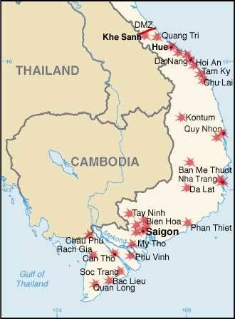 Tet Offensive Attacks The Communists Launched A Wave Of Attacks